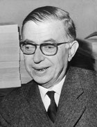 Jean Paul Sartre photo